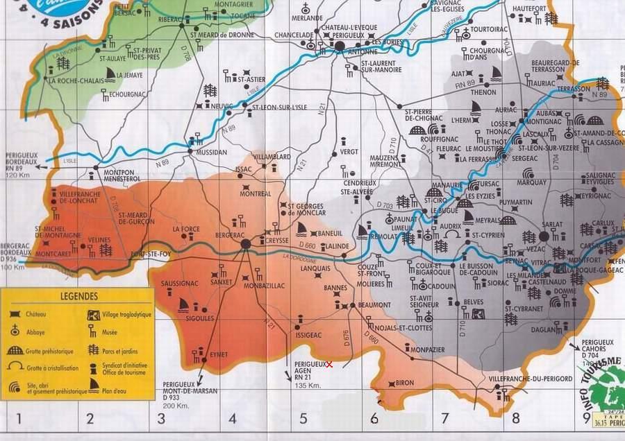 Dordogne tourisme voyages cartes - Office de tourisme de dordogne ...